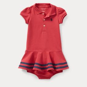 a11921b373 Vestido Infantil Polo Ralph Lauren Original Pronta Entrega