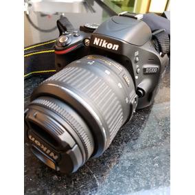 Camera Nikon D5100 Com Acessórios E Lente 55-200 Extra