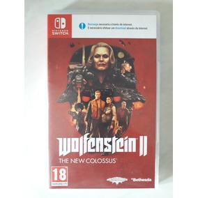 Jogo Wolfenstein 2 Switch - Mídia Física