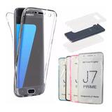 Capa Case Proteção Tela Inteira 360 Galaxy J7 Prime