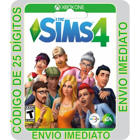 The Sims 4 Xbox One Digital Codigo 25 Digitos Original