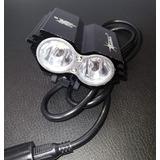 Lanterna Led Farol Bike 8000 Mil Lumes