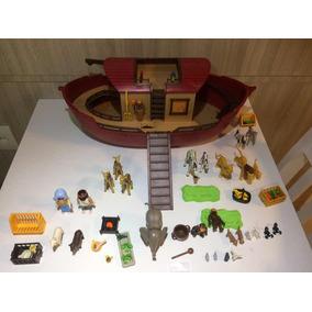 Playmobil Arca De Noé Noah Completa Raríssima Barco