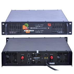 Amplificador Auditech Vat-8000 8000w Rms Em 2 Ohms