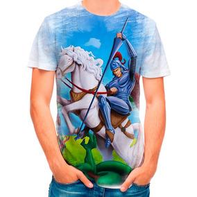 Camisa Camiseta So Jorge Santo Drago Romano 3925 02fcb846201f6