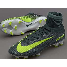 822d2478f7 Chuteira Nike Mercurial Verde Botinha - Chuteiras Nike Preto no ...