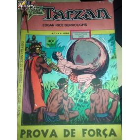 Tarzan Nº 02 4ª Série Editora Ebal -lança De Cobre - 1974