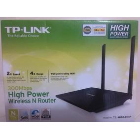Router De Alto Alcance Y Velocidad Tp-link Modelo Tl-wr841hp