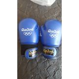 Luvas De Boxe Oficial Olimpiadas Rio 2016 - Azul