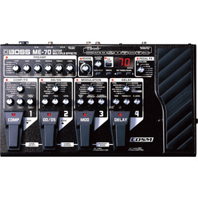 Boss Me-70 Multiple Effects Guitar Pedal