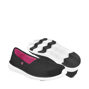 Tenis Casuales Charly Para Mujer Textil Negro 1041806
