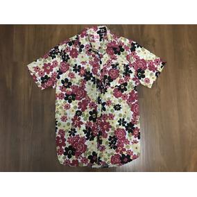 Camisao Botão Camuflado/floral Lançamen Oakley Mcd Lost 2018