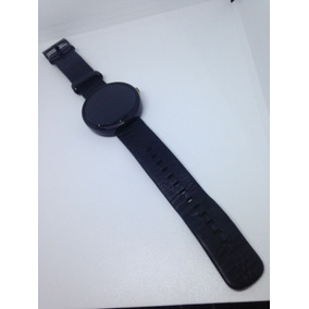 Relogio Moto 1st Gen Moto 360 42mm Smartwatch Pulseira Couro