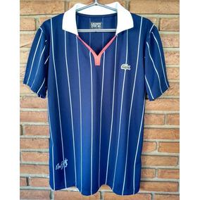 Camisa Lacoste Andy - Calçados, Roupas e Bolsas no Mercado Livre Brasil fb7d821189