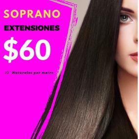 Extensiones Naturales $60 Por Metro De Cabello Humano