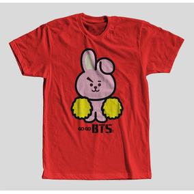 f7d2befa7d Camisa Bts Mascote Koya   Namjoon Torcida Unissex Promoção!