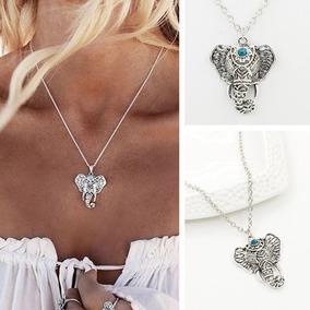 Collar De Elefante Moda Vintage