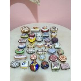 35 Miniaturas Em Porcelana