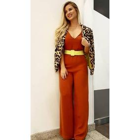 Macacao Pantalona Amarelo - Outros no Mercado Livre Brasil 1642908cad8