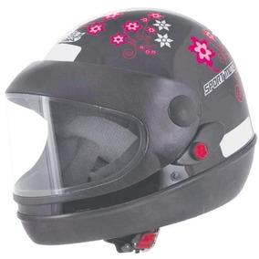 Capacete Sport Moto Girls - Capacetes Abertos Pro Tork para Motos no ... 6fb4430096e