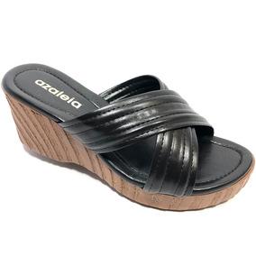 c9aa038af3 Sandalia Azaleia Anabela Plataforma Feminino - Sapatos no Mercado ...