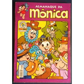 Lote Hq Gibi Almanaque Da Mônica - 5 Revistas
