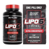 Termogênico Lipo 6 Black 60 Cápsulas - Importado