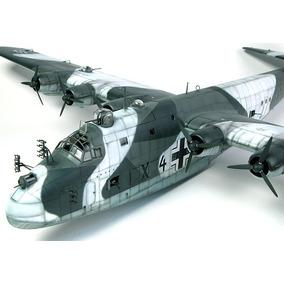 Bombardeiro Militar Alemão 2a.guerra M. - Bv 222 V2 - 25x32