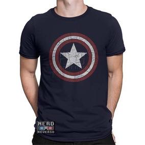 398e007bc Camiseta Capitão América - Camisetas Manga Curta para Masculino no ...