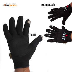 Luva Motocross 100% Impermeável Touch Motociclista Bike