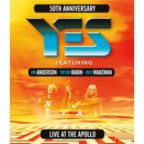 Yes - Live At The Apollo - Blu Ray Importado, Lacrado