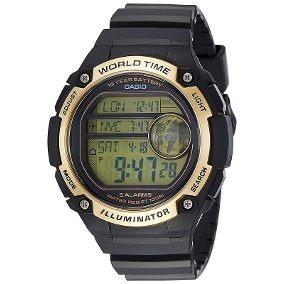 ae0ef44451713 Casio Dourado Pulso - Relógio Casio no Mercado Livre Brasil