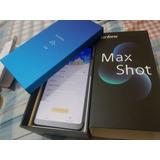 Zenfone Max Shot Prata 64gb 4ram Nota Fiscal E Garantia