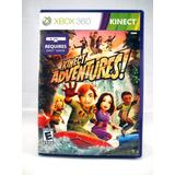 G0402 Xbox 360 Videojuego Videogame Kinect Adventures