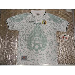 Jersey Playera Camiseta Mexico Garcis Confederaciones 1999 35ea0d26c584d