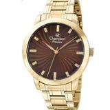 ece344ffb82 Relógio Champion Feminino Dourado Barato 50 Metros Cn292760