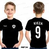 Camiseta Infantil Personalizada Time Botafogo Futebol - 34 fe81660f639db