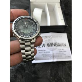 Citizen Wingman, Impecable Con Estuche Y Manuales. C080