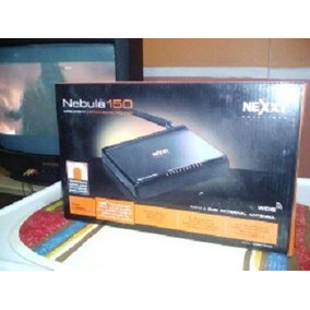 Router Nexxt Wireless N Nebula Wifi 150 Mbps