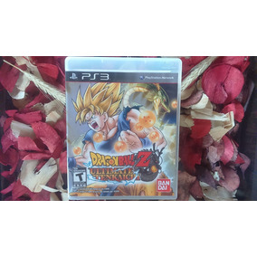 Dragon Ball Z Ultimate Tenkaichi Mídia Física Ps3 Frete 12,0