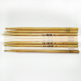 Baquetas De Madera Vic Firth Y Zildjan. Usadas - Por Unidad