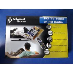 Tarjeta Pci Tv Tuner W/fm Radio Marca Advantek