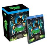 Blu-ray + Camiseta O Besouro Verde Novo E Lacrado - Rogen