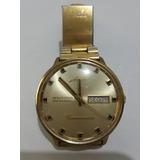d8d61b39b27 Relógio Mido Automático Ocean Star Datoday Commander Dourado