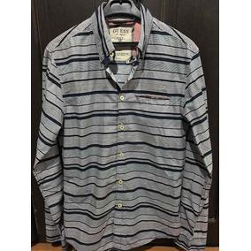 Camisa Guess Hombre Xs Extra Chica Slim Fit 06ec37324da5a