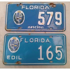 Matriculas Antiguas Florida Auto Esmaltadas