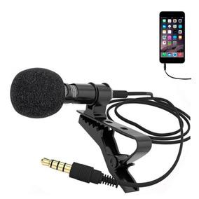 Microfone De Lapela P/ Celular Smartphone Iphone Youtubers