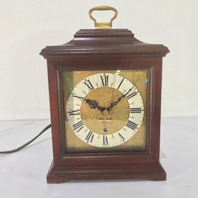 Hermoso Reloj Seth Thomas Eléctrico Electrico Vintage U.s.a.