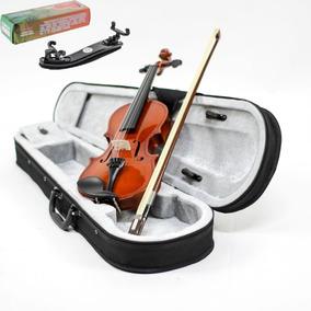 Kit Violino Custom 4/4 C/ Case + Espaleira Completo