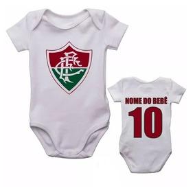 Body Do Fluminense - Bodies Manga Curta de Bebê no Mercado Livre Brasil d3de8bd1132a2